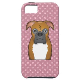 Boxer Cartoon iPhone SE/5/5s Case