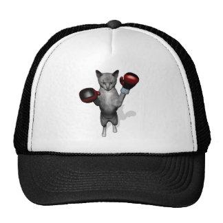 Boxer Cat Trucker Hat