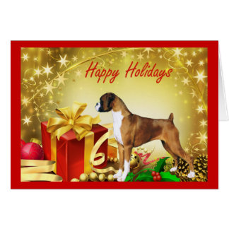 Boxer Christmas Card Gifts