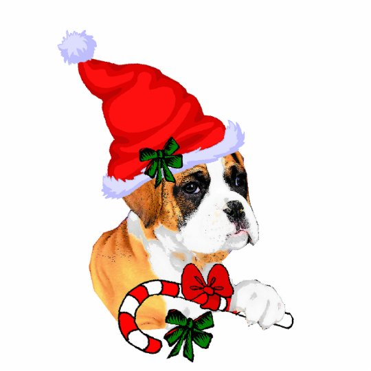 Boxer Christmas Gifts Ornament