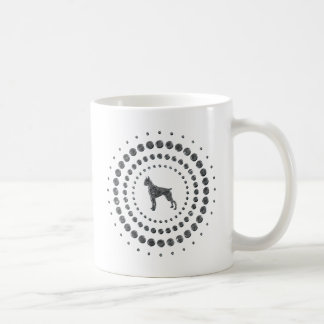 Boxer Chrome Studs Coffee Mug