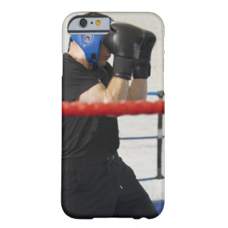 Boxer covering his face in ring barely there iPhone 6 case
