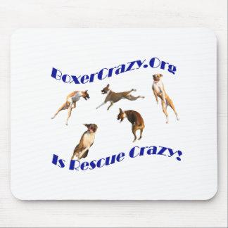Boxer Crazy Mousepad - Air Abby