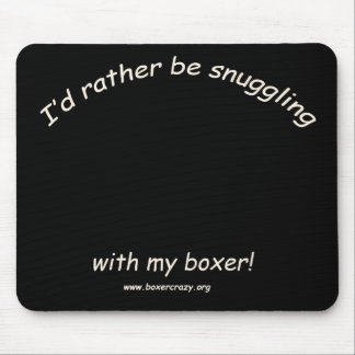 Boxer Crazy Mousepad - DYO