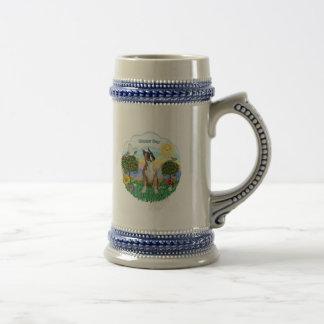 Boxer (cropped ears) beer stein