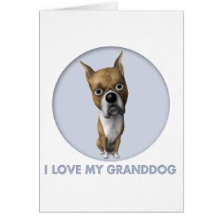 Boxer (Cropped) Granddog Card