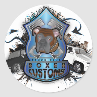 Boxer Customs Sticker