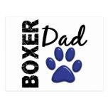 Boxer Dad 2 Post Card