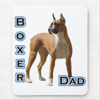 Boxer Dad 4 Mouse Pad