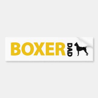 Boxer Dad Bumper Stickers
