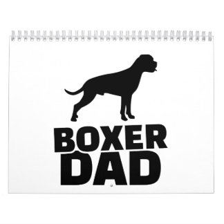 Boxer Dad Calendar