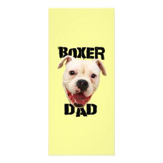 Boxer Dad dog Custom Rack Cards