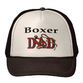 Boxer Dad Gifts Trucker Hat