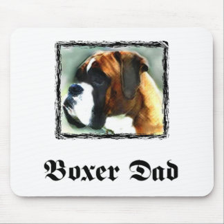 Boxer dad mousepad