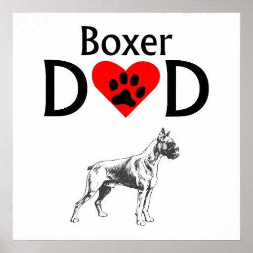 Boxer Dad Poster