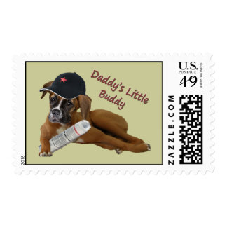 """Boxer """"Daddy's Buddy"""" Postage"""