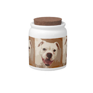 Boxer Dog Art Candy Dishes