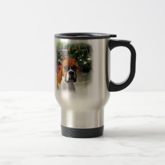 Boxer Dog Art Gifts Travel Mug