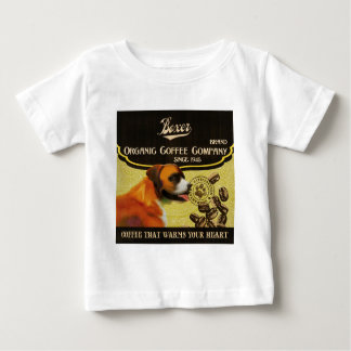 Boxer Dog Art Poster – I Run To Greet You Baby T-Shirt