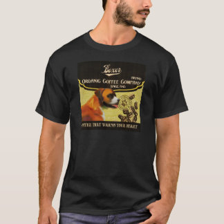 Boxer Dog Art Poster – I Run To Greet You T-Shirt