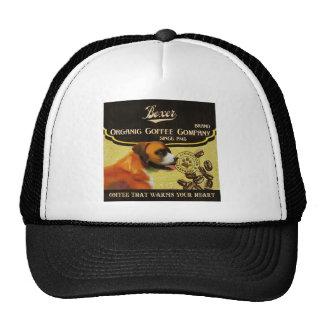 Boxer Dog Art Poster – Organic Coffee Company. Trucker Hat