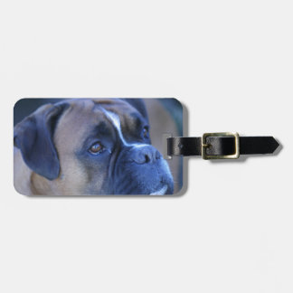Boxer Dog Bag Tag
