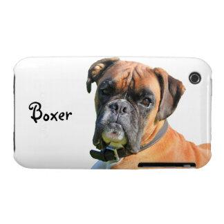 Boxer dog beautiful photo portrait custom iPhone 3 cover