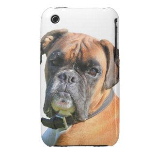 Boxer dog beautiful photo portrait iPhone 3 Case-Mate case