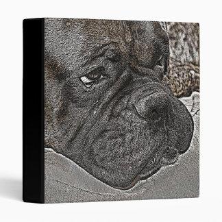 Boxer dog binder