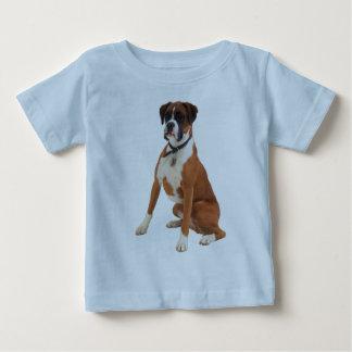 BOXER DOG Blue T-Shirt