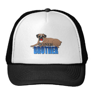 Boxer Dog Brother Trucker Hat
