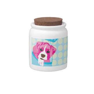 boxer dog candy dish