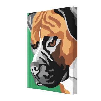 Boxer Dog Canvas Prints