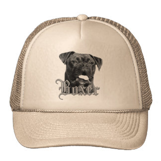 Boxer Dog Cap Trucker Hat