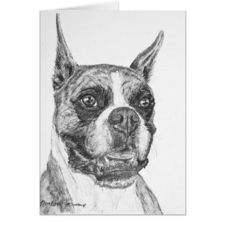Boxer Dog Cards