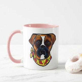 Boxer Dog Cinco de Mayo Mug