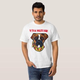 Boxer Dog Cinco de Mayo T-Shirt