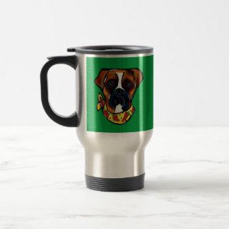 Boxer Dog Cinco de Mayo Travel Mug
