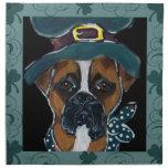 Boxer Dog Cloth Napkins