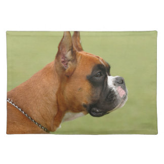 Boxer Dog Cloth Placemat