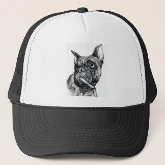 Boxer Dog Cuteness Trucker Hat