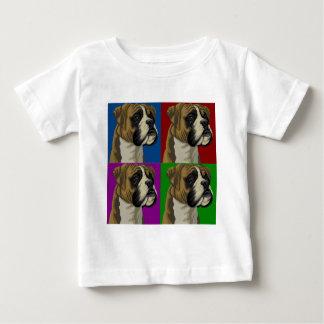 Boxer Dog Dark Primary Collage T-shirts