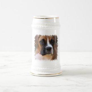 Boxer Dog Design Beer Stein