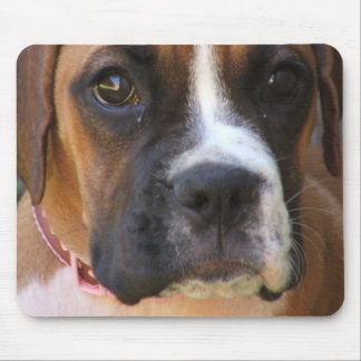 Boxer Dog Design Mouse Pad