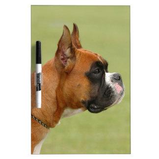 Boxer Dog Dry Erase Board