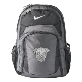 Boxer Dog Face - Detailed Dogs Nike Backpack