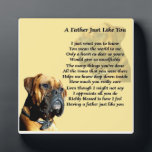 "Boxer Dog Father Poem Plaque<br><div class=""desc"">This would make a great gift for that special boxer dog loving father,  featuring a special father poem.</div>"