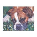 Boxer Dog fine art dog painting Canvas Print