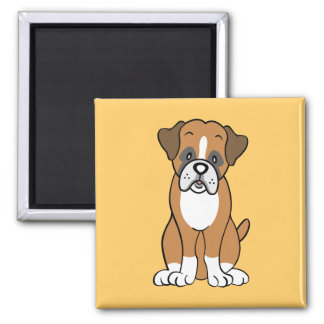 Boxer dog gifts and merchandise magnet