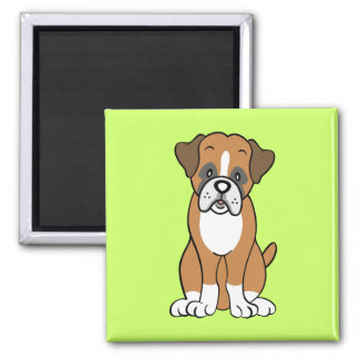 Boxer dog gifts and merchandise fridge magnet